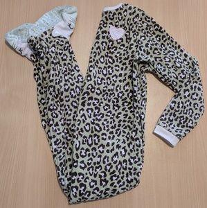 Carter's Pajamas - Leopard print cat pajamas
